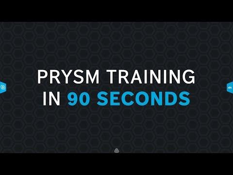 Prysm Training in 90 Seconds
