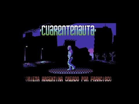 Cuarentenauta (Commodore 64 demo)