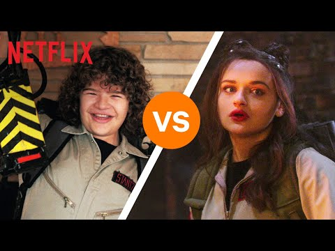 Best Of Netflix Halloween Costumes BATTLE | Netflix