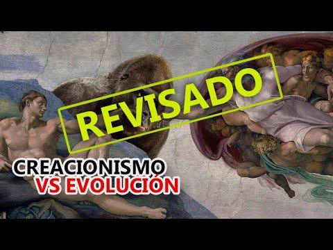 Creacionismo vs. Teoría de la evolución (revisado)