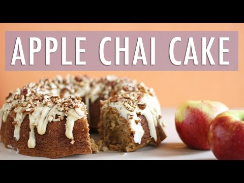 APPLE CHAI SPICED CAKE | THANKSGIVING DESSERT RECIPE