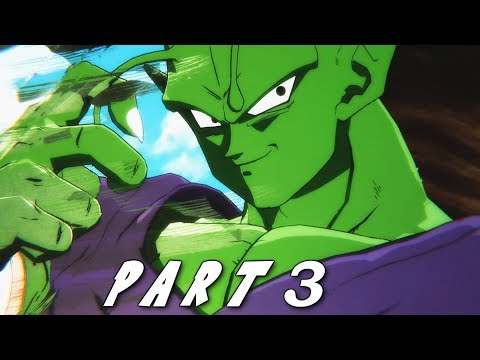 RESCUING PICCOLO IN DRAGON BALL FIGHTERZ STORY MODE CAMPAIGN Walkthrough Gameplay Part 3 (DBFZ)