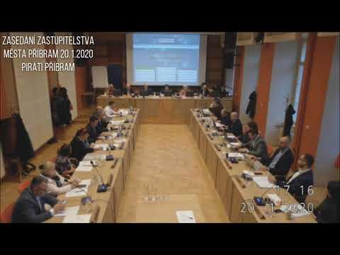 Zasedání zastupitelstva města Příbram 20.1.2020