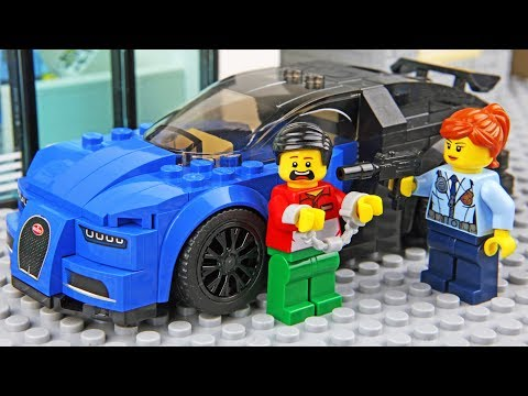 connectYoutube - Lego Car Robbery - Invisible Man 2