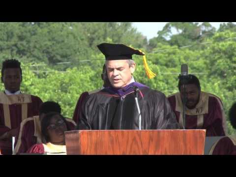 Austin Mayor Steve Adler Delivers Huston-Tillotson University's Commencement Address