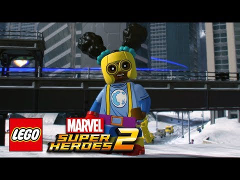 LEGO Marvel Super Heroes 2 - Moon Girl Free Roam Gameplay Showcase