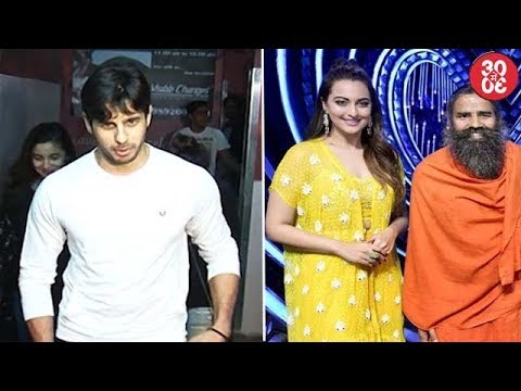 Sidharth Interested In Taking Up Production | Sonakshi & Baba Ramdev To Judge A Reality Show