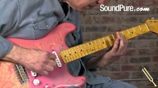 Nash S-57 Pink Paisley #1 Electric Guitar Demo