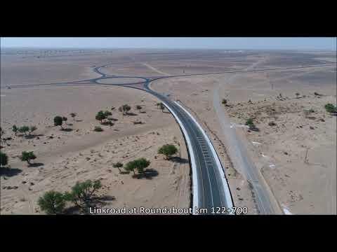 Neubau des Straßenabschnittes Sinaw-Mahout-Al Duqm (Los2), Sultanat Oman