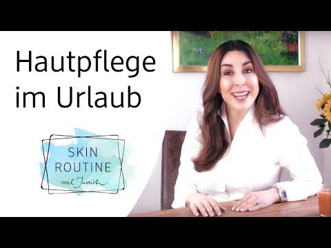 Hautpflege im Urlaub   Skin Routine mit Judith Williams