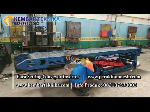 Mesin Conveyor Portable | Pemindah Barang