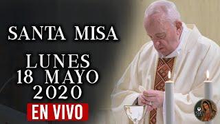 Santa Misa de Hoy Lunes 18 de mayo de 2020// con el Papa Francisco//