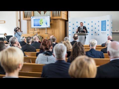 Empfang zur Gründung der Neuapostolischen Kirche Westdeutschland in Frankfurt