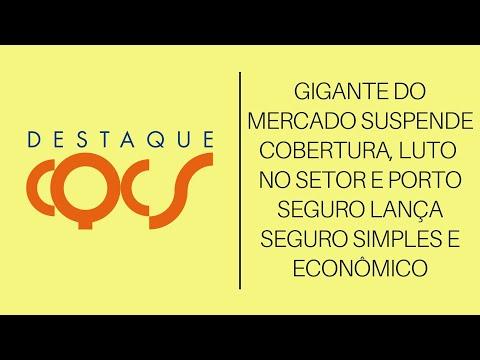 Imagem post: Gigante do mercado suspende cobertura, Luto no setor e Porto Seguro lança Seguro simples e econômico