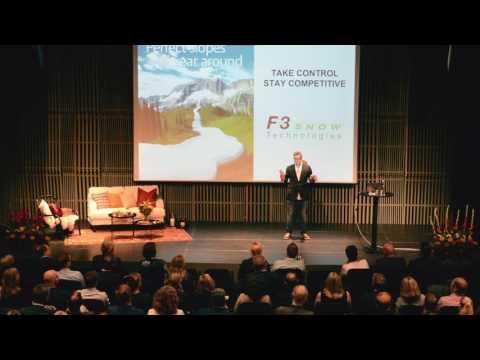 Jonas Henriksson, F3 Snow Technologies pitch UIC-dagen 2016