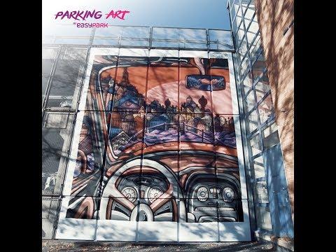 Sandvika Parking Art Project by EasyPark