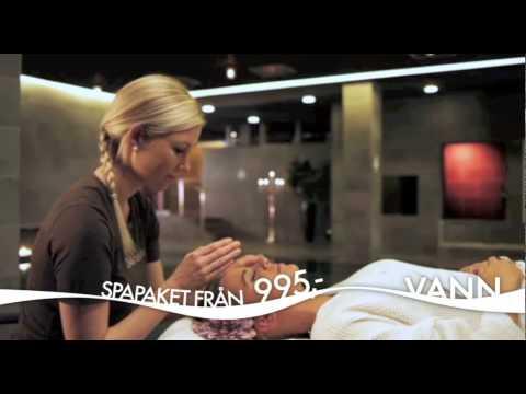 Spapaket från 995 kr - logi och middag ingår