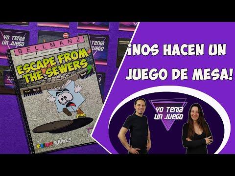 Escape From The Sewers | ¡Unboxing de nuestro Juego De Mesa!