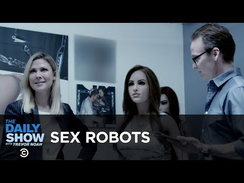 connectYoutube - Robots Want Our Jobs... and Our Genitals | The Daily Show