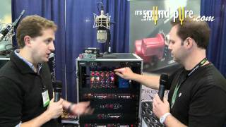 Phoenix Audio UK DRS-EQ Demo - AES 2011