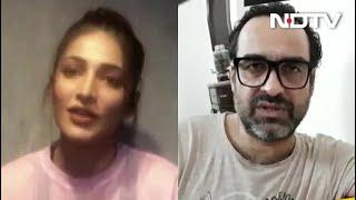 फिल्म कलाकार Pankaj Tripathi और Shruti Haasan ने Telethon में किसानों के मुद्दे पर रखी अपनी राय - NDTVINDIA