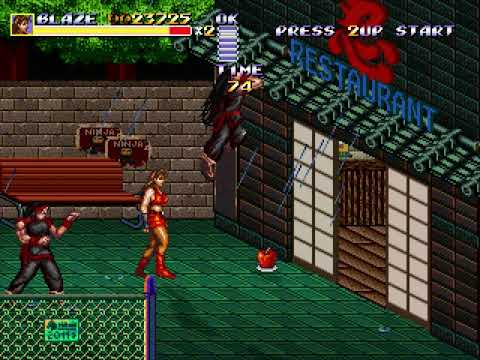 Streets of Rage Remake (Route 3: Blaze) (Bomber Games) (Windows) [2011] [PC Longplay]