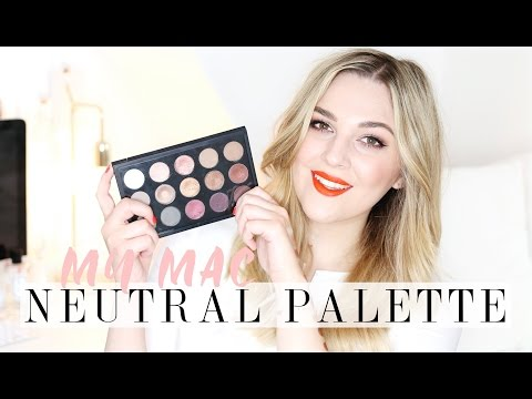 My MAC Neutral Eyeshadow Palette & Swatches | I Covet Thee