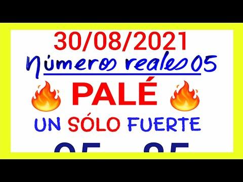 NÚMEROS PARA HOY 30/08/21 DE AGOSTO PARA TODAS LAS LOTERÍAS...!! Números reales 05 para hoy...!!