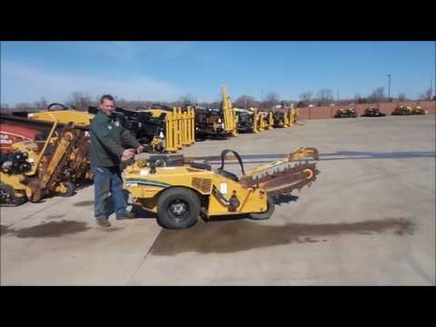 Vermeer RT200 trencher for sale | no-reserve Internet auction April 13, 2017