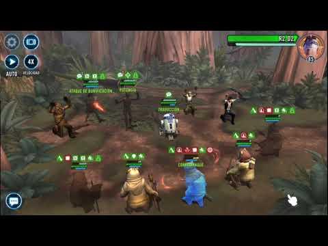 BITeLog #003B.5: Galaxy of Heroes (ANDROID/IOS) C3PO Ewoks (Explorador)