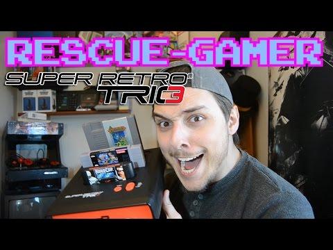 Rescue-Gamer: Super Retro Trio