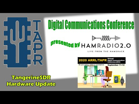 TangerineSDR Hardware Update - TAPR Digital Communications Conference 2020