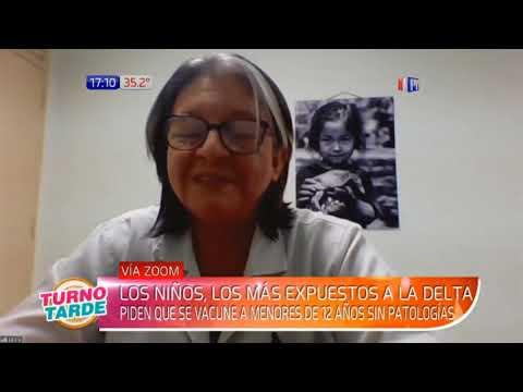 Ante ingreso de Delta: Piden que niños sin patologías sean vacunados