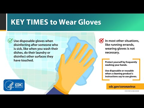 Key Times to Wear Gloves