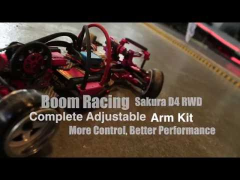 Sakura D4 Rear Active Toe In & Out System By Boomracing