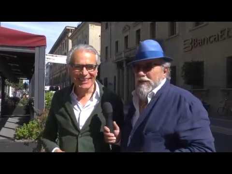 Arezzo: nido di rondine nei boulevard di Via Roma