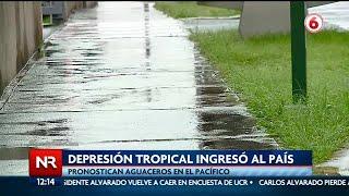 Pronostican fuertes aguaceros por depresión tropical