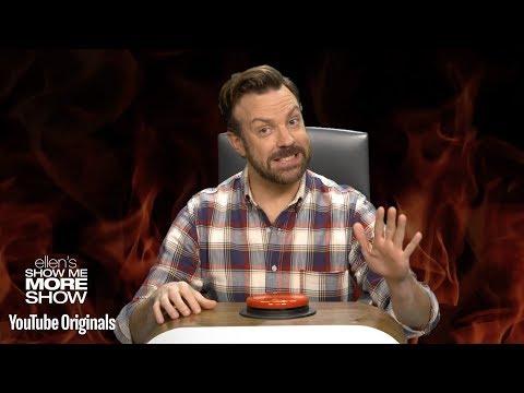 Jason Sudeikis Answers Ellen's Burning Questions