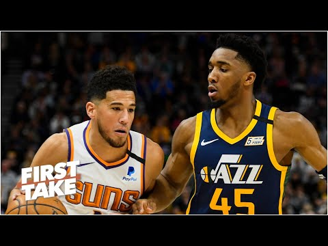 Donovan Mitchell vs. Devin Booker: Who is the better player? First Take debates