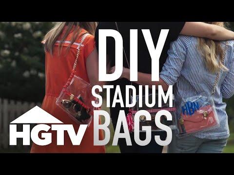 3 Ways to Decorate a Stadium Bag - HGTV