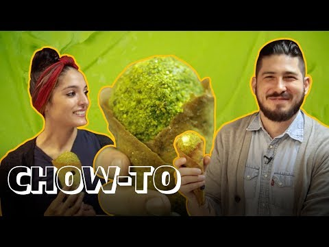 How to Make Superfood-Infused Ice Cream with Moringa | CHOW-TO