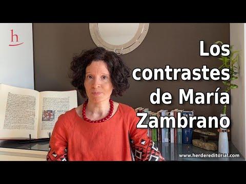 Vidéo de Maria Zambrano