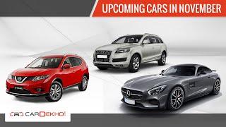 Upcoming Cars in November 2015 | CarDekho.com
