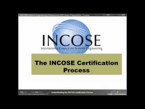 Understanding the INCOSE Certification Process