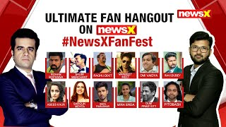 NEWSX FAN HANGOUTS : CONNECTING STARS AND YOU | NewsX - NEWSXLIVE