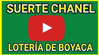 Resultados lotería de Boyaca 22 de Febrero de 2020