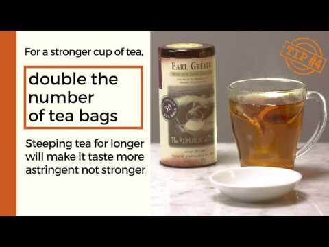 4 Tips for Steeping Black Tea