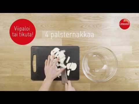 Canderel-resepti: Uunikasvikset