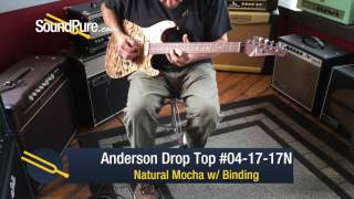 Anderson Drop Top Natural Mocha w/ Binding #04-17-17N Quick n' Dirty