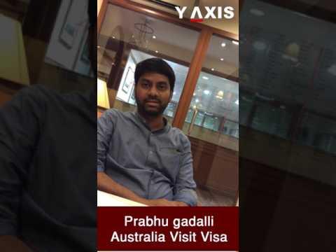Prabhu gadalli Australia visit visa PC Rozeena